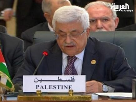 مبارك(2) محمود عباس يهنئ مبارك بدلاً من مرسي بالقمة الإسلامية