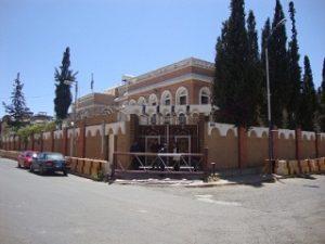مبنى الامن السياسي بصنعاء 300x225 أنباء عن تعيين اللواء عبدالله صالح الجريزع رئيساً لجهاز الامن السياسي خلفاُ للرويشان