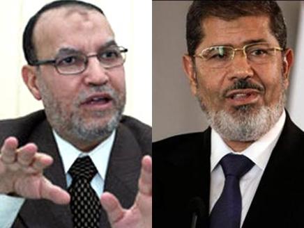 مرسي(3) مرسي يوافق على استقالة العريان من الهيئة الاستشارية