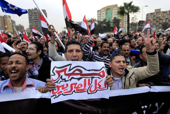مصر(4) نائب الرئيس المصري يعرض ادخال تعديلات على مشروع الدستور