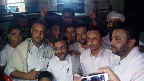 مكرم جماعة الحوثي تفرج عن القيادي في الحراك التهامي الشيخ عبدالرحمن مكرم