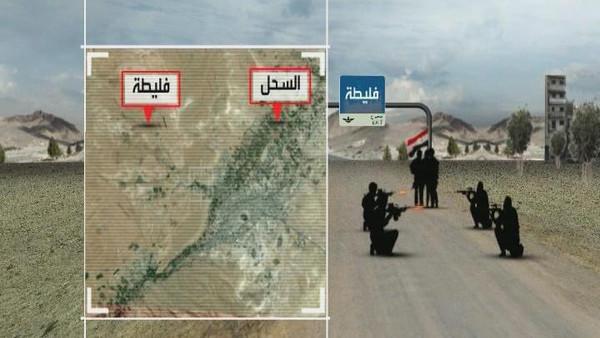 ناشطون ناشطون: المقاتلون انسحبوا من يبرود إلى مناطق مجاورة