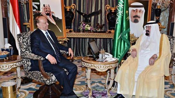 نن تفاصيل زيارة عاجلة لفخامة الرئيس هادي الى جدة السعودية