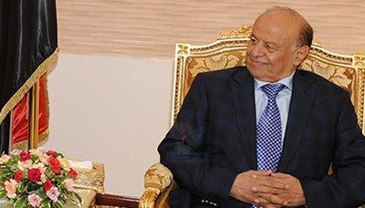هادي(9) رئيس الجمهورية يؤكد ان العمل يسير بجهود كبيرة باتجاه التسوية السياسية التاريخية