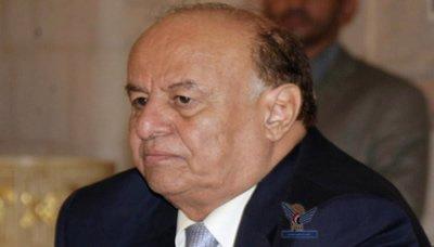 هادي16 رئيس الجمهورية يتلقى اتصالا هاتفيا من خالد مشعل