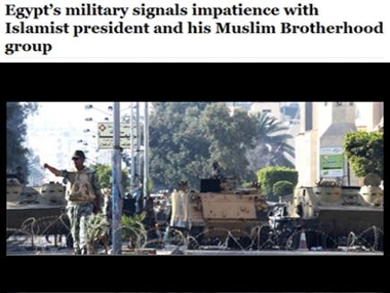 واشنطن واشنطن بوست: صبر الجيش المصري بدأ ينفد.. والتدخل أصبح وشيكاً