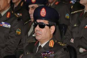 وزير الدفاع المصري عبدالفتاح السيسي 610x406 300x199 رجل يمني يسمى أبنه السيسى