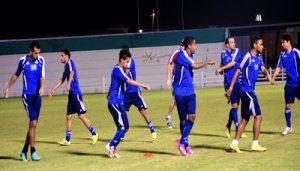 00016 300x171 المنتخب الوطني لكرة القدم يبدأ استعداداته في الدوحة لمواجهة أوزبكستان