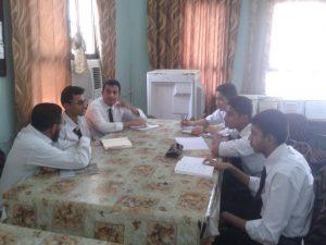 0009 300x225 طلاب ثانوية عدن النموذجية ينظمون اجتماعا لمناقشة صدور صحيفتهم المدرسية!