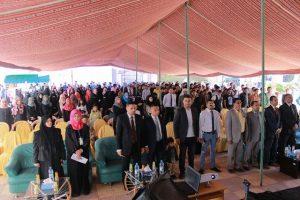 046 300x200 جامعة تونتك الدولية تنظم بازار تراثي لدعم النازحين والأسر المتضررة