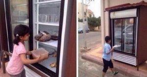05 05 14 623367016 300x158 مواطن يضع ثلاجة مليئة بالطعام أمام منزلة للمحتاجين والفقراء في السعودية