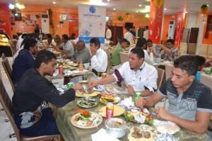 053 300x199 مؤسسة طيبة للتنمية تقيم مأدبة إلأفطار السنوي بالحديدة