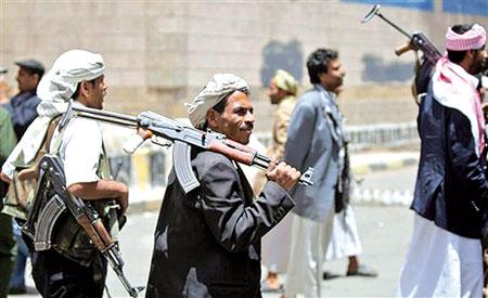 1(46) الحديدة : مسلحون يختطفون ثلاثة سعوديين ويطالبون بفدية
