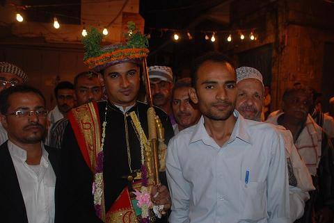 1(66) رئيس تحرير موقع الحديدة نيوزغمدان  أبوعلي  يحتفل بزفافة