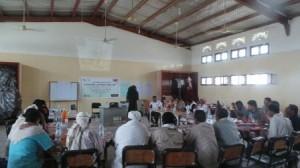 11125 الحديدة : ملتقى منظمات المجتمع المدني تدشن دورة المنهج الحقوقي في التنمية