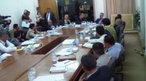 1115 300x168 وزير الشباب يؤكد حاجة الرياضة اليمنية لعمل مؤسسي ورؤية إستراتيجية وشوقي يؤكد جاهزية تعز