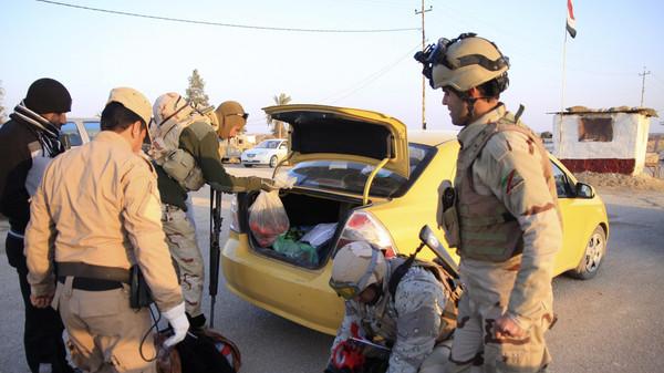 1159 الجيش العراقي يضرب الرمادي جواً ويقتل 25 مسلحاً