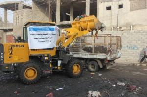12055352 1708238992743935 2012105901 o 300x199 الإغاثة الإسلامية تنفذ حملة لرفع المخلفات من شوارع مدينة الحديدة