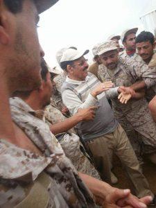 1268 225x300 شاهد  أول ظهور للواء علي محسن مع قوات الجيش الوطني