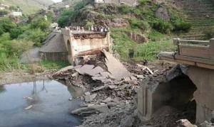 13906990 1330802413616360 5809134642261998092 n 300x179 طائرات العدوان تدمر جسر الدرجة الرابط بين محافظتي صنعاء والحديدة