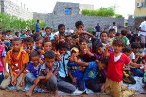 مؤسسة المنار للتنمية بالمراوعة تحتفل بمناسبة إختتام المساحات الصديقة لـ 300 طفل بالحديدة