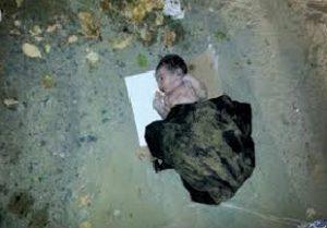 15 03 14 34658556 300x209 إب : العثور على طفل مولود وقد نهشت الكلاب جزء من جسده
