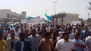 1528747 398669533612436 510874628 n 300x168 مسيرة حاشدة للحراك التهامي أحتجاجاً على نقل جماعات السلفيين المسلحين ونقل الصراع الى مدينة الحديدة