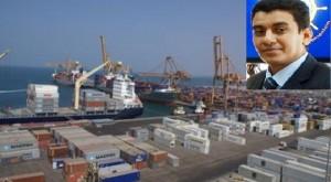17 12 14 682218874 300x165  عمال وموظفوا ميناء الحديدة يتظاهرون إحتجاجاً على منع رئيس مجلس إلادارة من دخول الميناء