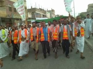 18 07 14 710921618 300x224 الحديدة : مظاهرات حاشده للحوثيين في باجل ترفع شعار الصرخة