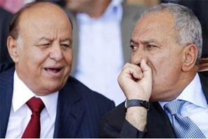 19 06 14 868022167 الخلافات بين هادي وصالح تتسبب في إنشقاق  التحالف الوطني