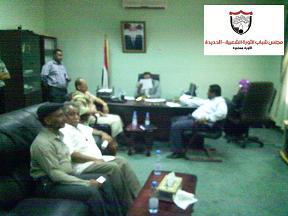 2(46)  مجلس شباب الثورة الشعبية بالحديدة ينفذ زيارات ميدانية للمديريات للأطلاع على هموم المواطنين