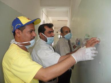 2(53) حملة نظافة واسعه في المعهد العالي للعلوم الصحية بالحديدة