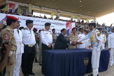 2 1 تخرج الدفعة الـ22 كلية بحرية بمحافظة الحديدة