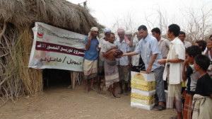 22 300x168 الحديدة : جمعية أبي موسى الاشعري تدشن حملة خيرية تستهدف الفقراء والمساكين