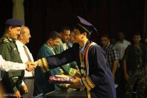 266 300x200 جامعة العلوم والتكنولوجيا بالحديدة تحتفي بتخرج ( 164) من طلابها