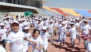 رعاية الأطفال تقيم الماراثون العالمي للتحدي بالحديدة تحت شعار سباق من اجل البقاء