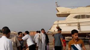 3313 300x168 رئيس موانئ البحر الأحمر يتفقد جاهزية عدد من المرافق الخدمية بميناء الحديدة ويطلع على أحوال العاملين والمناوبين فيها