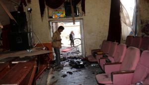 349 300x171 إب : انتحاري يفجر نفسه بإحتفال لـالحوثيين وسقوط قتلى وجرحى