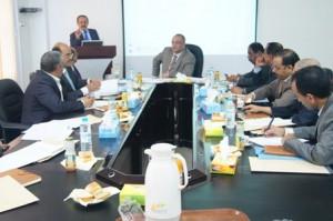 367 300x199 مناقشة المستجدات المتعلقة بمشروع الجرف القاري في وزارة النقل