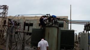 499 300x168 مصدر مسئول : تشغيل محطة كهرباء الحديدة ظهر غداً السبت