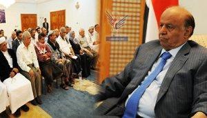 54 هادي مصر على اختتام الحوار في الـ18 من سبتمبر وحصر فترة التمديد الاضطرارية حتى نهاية الشهر