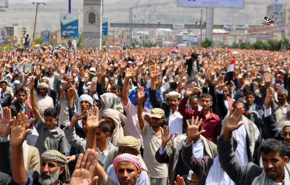6(2)  تنظيمية الثورة تدعو اليمنيين للإحتشاد في جمعة غدا سبتمبر الثورة .. نواصل الفكرة