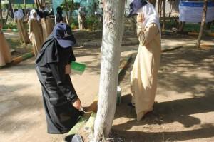 623 300x199 الإغاثة الإسلامية تدشن حملة نظافة وتحسين لحديقة مدرسة هائل سعيد بالحديدة