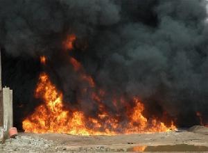 64 تفجير جديد يستهدف أنبوب نقل النفط في مأرب