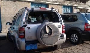 7548 273521159465733 436834306 n 300x179 مسلحون مجهولون يعتدون على سيارة نائب رئيس جامعة الحديدة