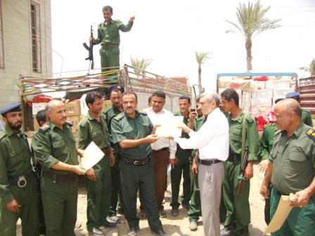 7777 الحديدة : وزارة الزراعة تكرم رجال أمن القناوص