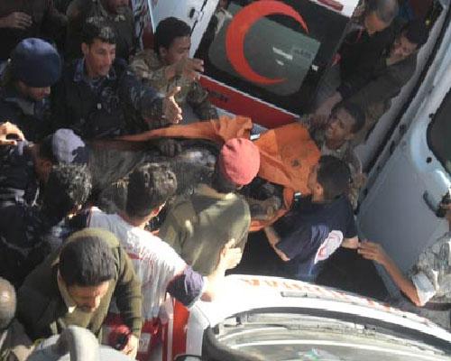 8(1) سقوط طائرة نقل عسكرية في منطقة الحصبة بصنعاء ومقتل قائدها و 9 من المتدربين