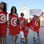 TUNISIA-POLITICS-UNREST-WOMEN