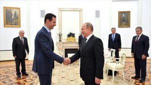 912 300x168 «الأسد» يلتقي «بوتين» في موسكو ويعرب عن امتنانه لـ«المساعدات الروسية»