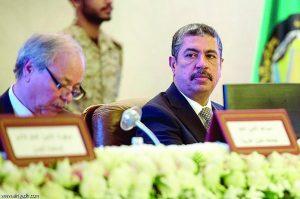 935832896268 300x199 نائب الرئيس اليمني خالد بحاح يصل إلى مطار عدن